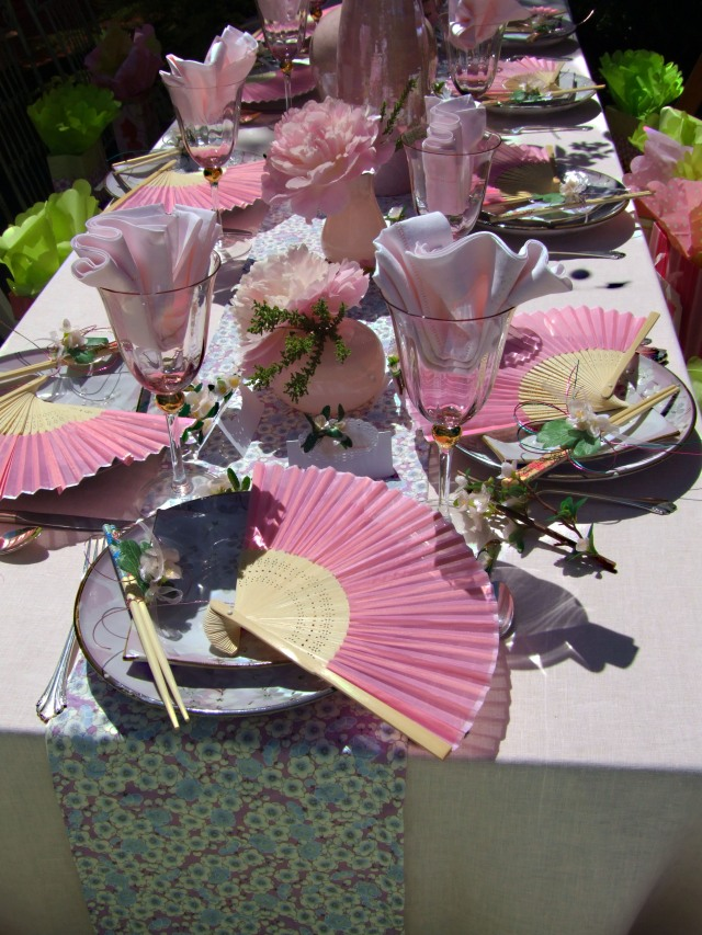 Welcome the Cherry Blossom luncheon