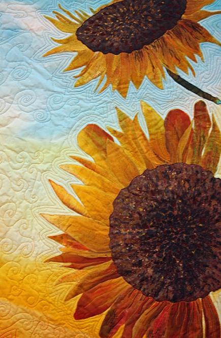 """Two Sunflowers""- Barbara Harms"