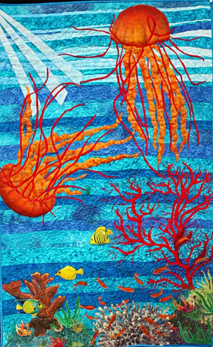 """""""Jelly Fish Love"""" Barbara Harms commissioned"""