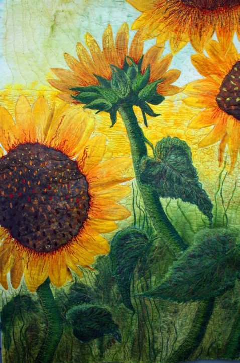 "Sunflowers For Cyndy"" commissioned"