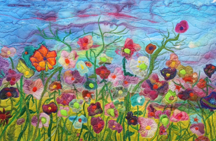 Monet's Garden-SOLD
