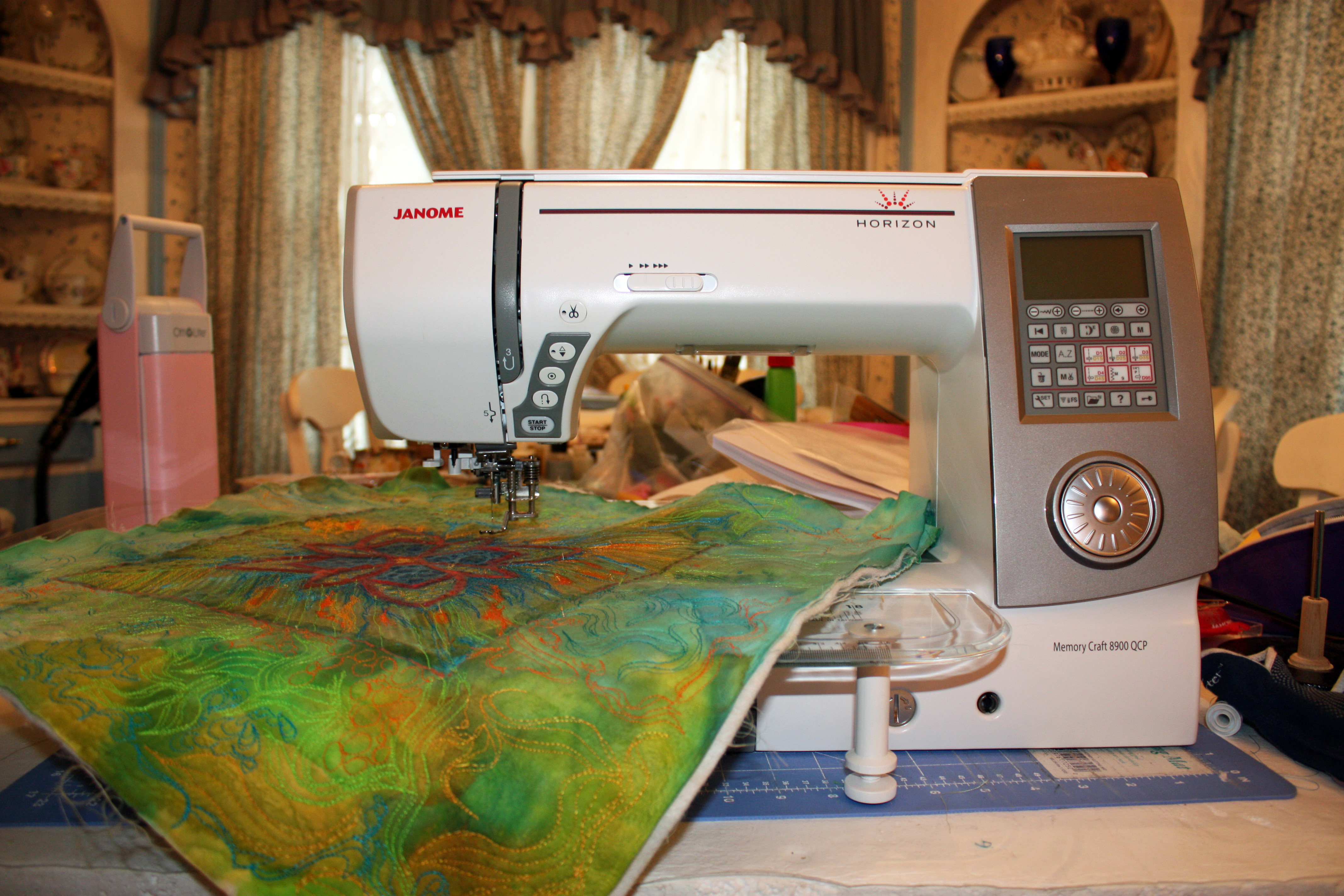 Janome horizon memory craft 8900 - How About That New Janome