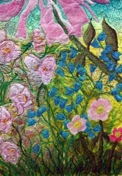 A  silk orignal art quilt