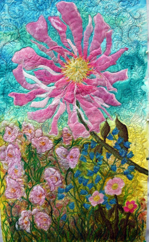 a pink peony art