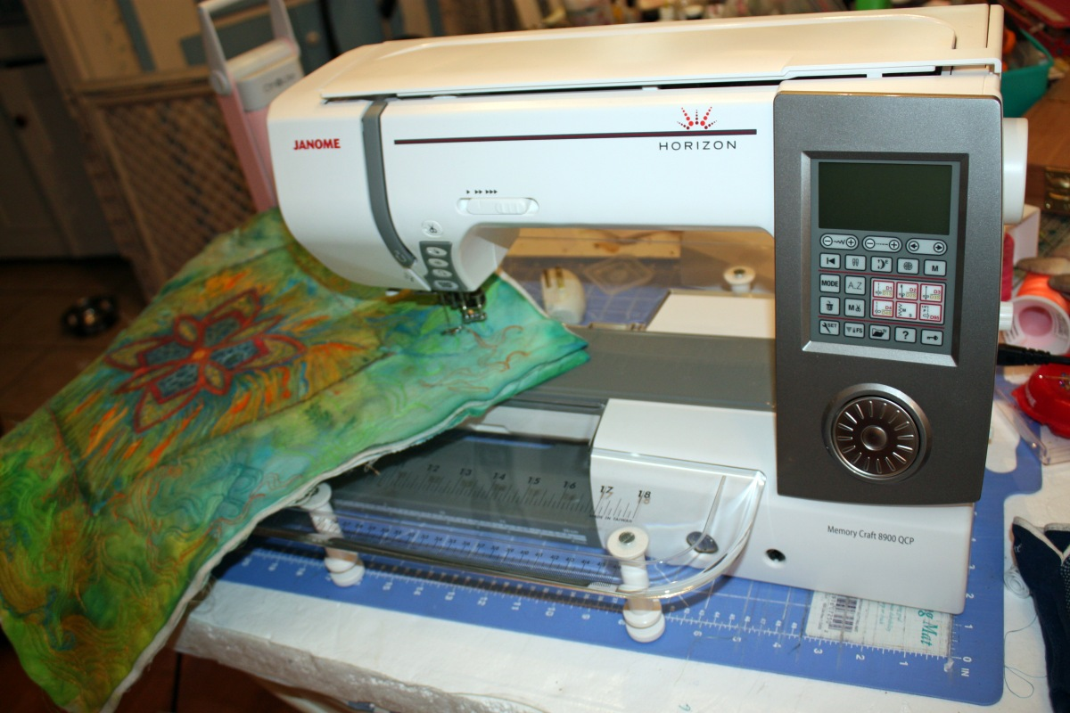 Janome's new Horizon 8900 QCP Want to know what I think?
