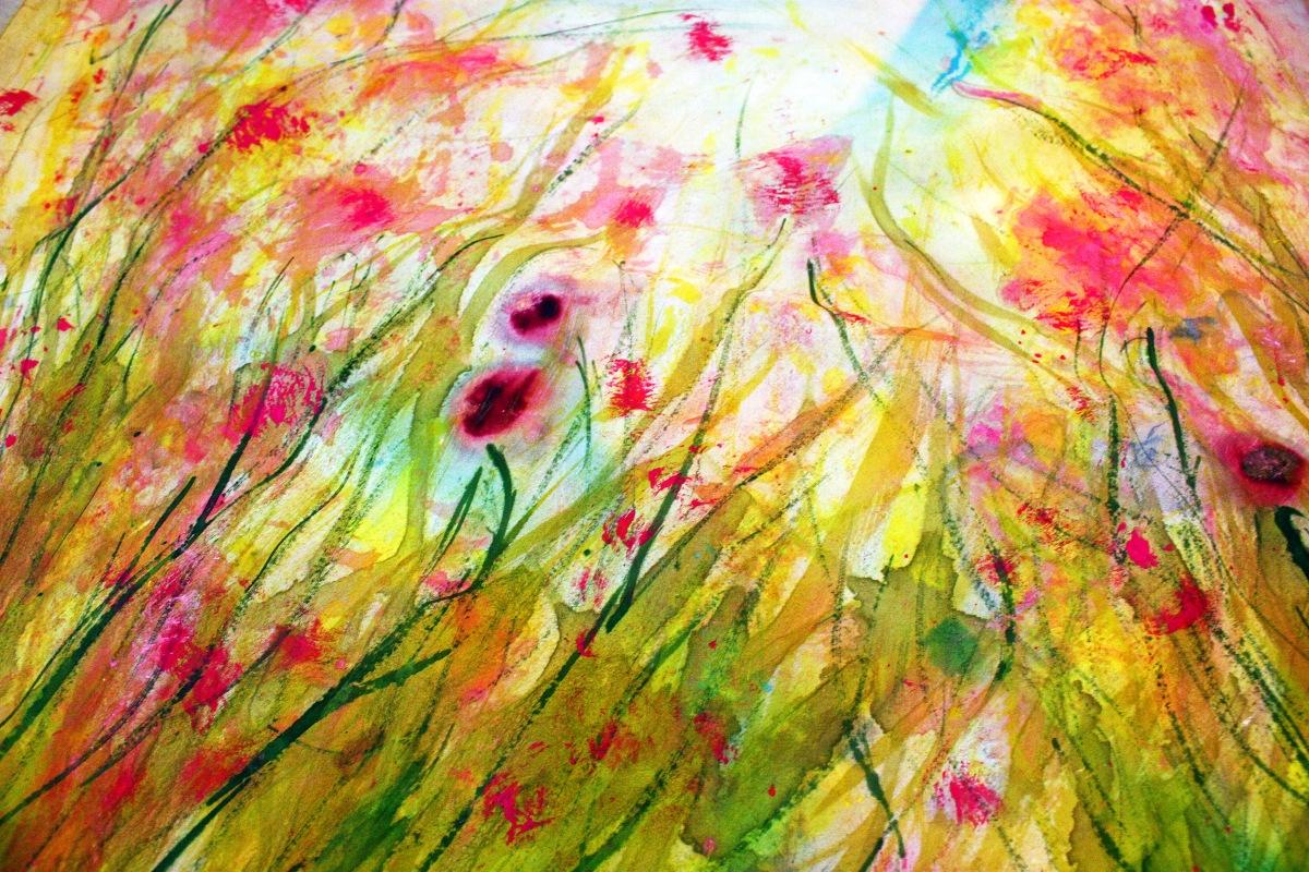 Impressionist art quilt