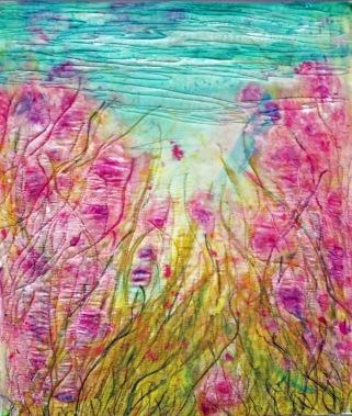 Pink Wildflower-sold