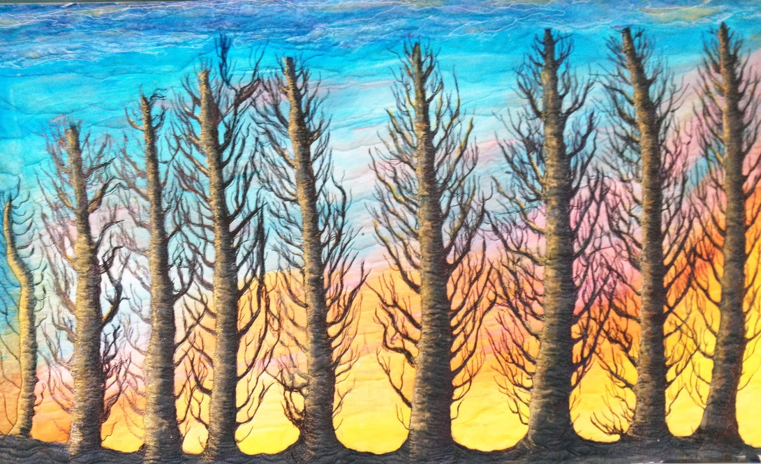 """""""60 MPH Sunset""""-Barbara Harms"""