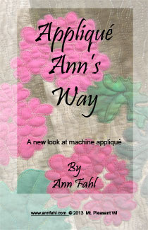 Applique Ann's Way