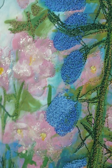 FeverfewBlue Flowers Big Sky