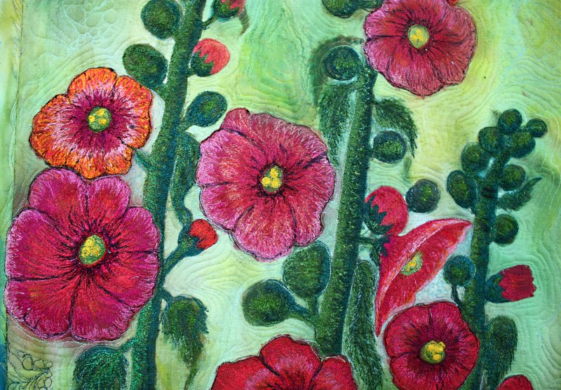 Barabara Harms Fiber Art asianartandquilts.com
