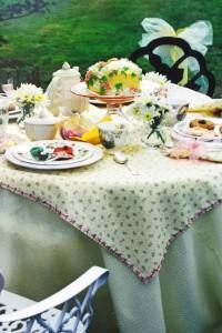 Table girls tea