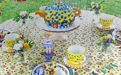 Girl's tea, Mary E