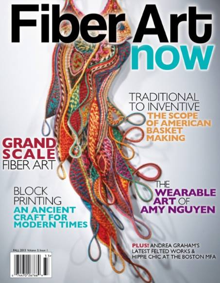 Fiber Art Now the Mag