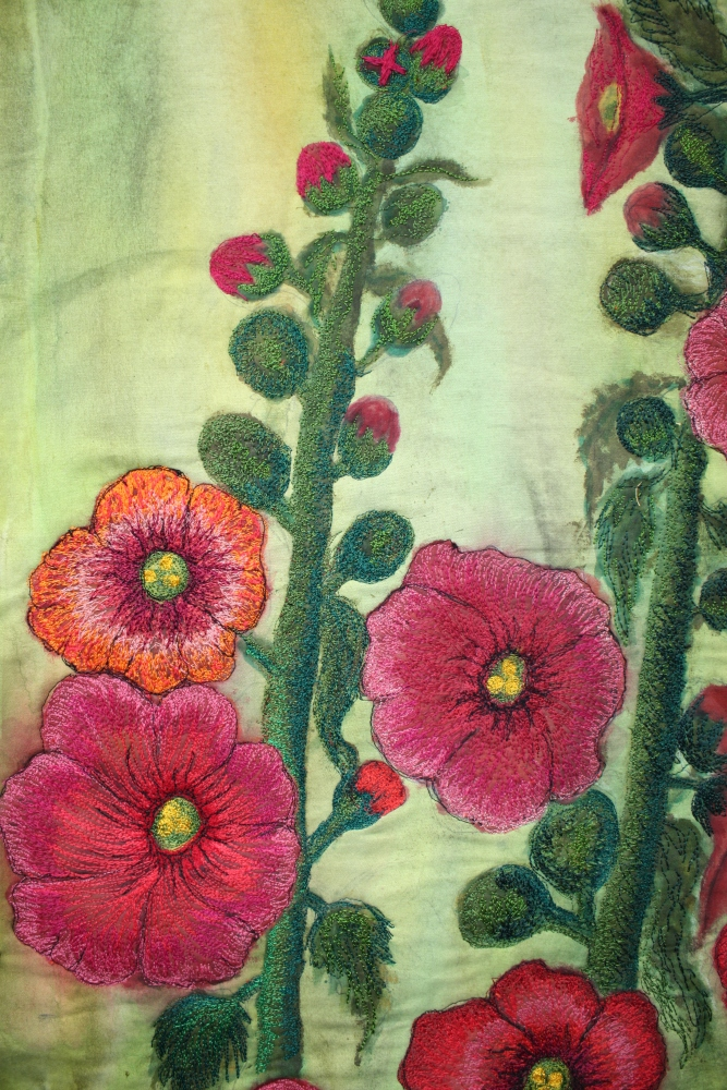 hollyhocks 007