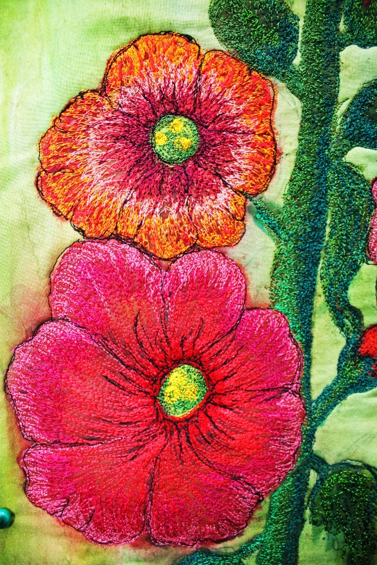 hollyhocks 010