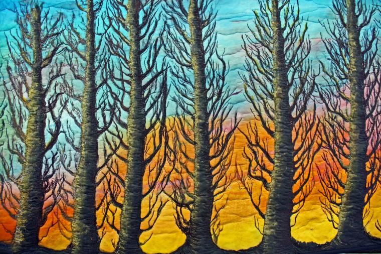 Art quilts, Barbara Harms Fiber Art, 1131 SW Ellis St, Dallas OR 039