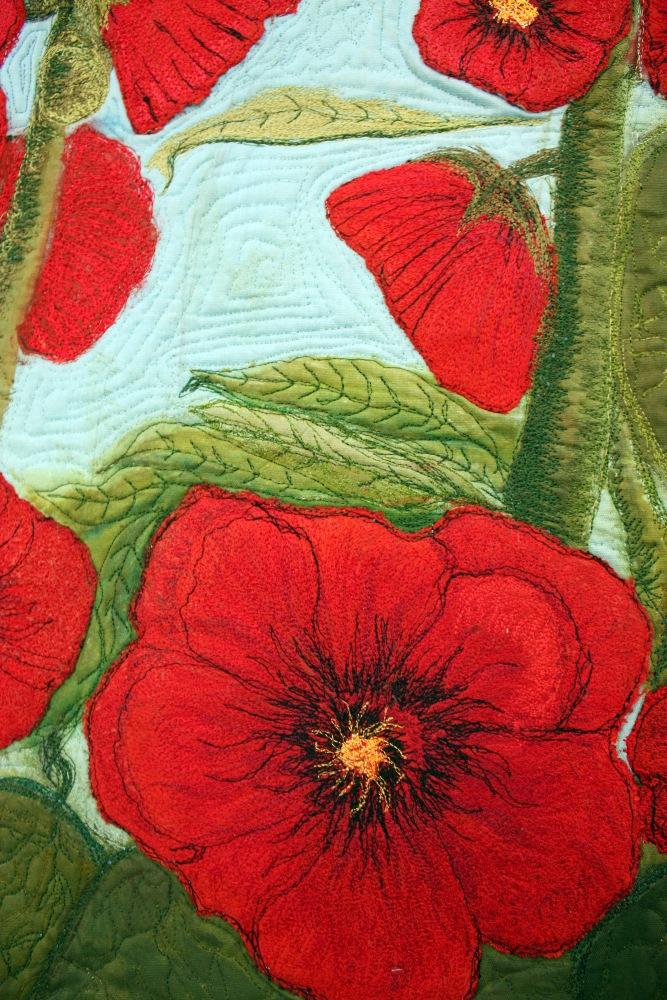 Barbara Harms Fiber Art modern art quilt
