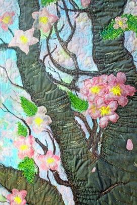"""It's Raining Pink""--Barbara Harms"