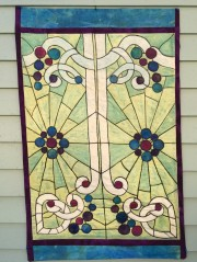 "A commissioned work "" Stained Glass"""