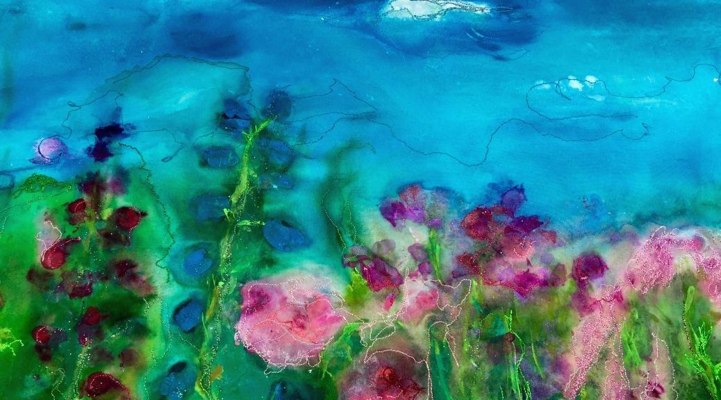 Color Melts Barbara Harms art quilt
