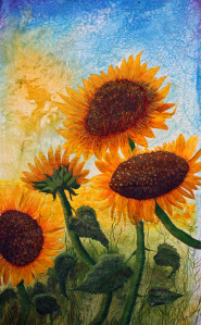 Barbara Harms Sunflowers or Cyndy